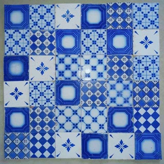 Carrelages ciment anciens carreaux color s motifs for Carreaux faience anciens