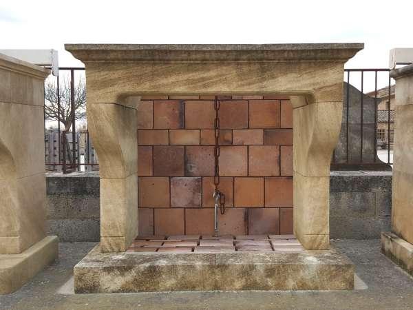 Plan De Cheminée Foyer Ouvert : Cheminées en pierre de taille style provencal louis xv
