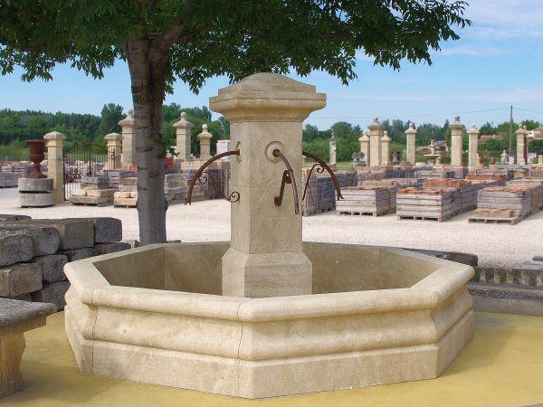 Fabricant de fontaines centrales en pierre naturelle - Bassin pierre prix boulogne billancourt ...