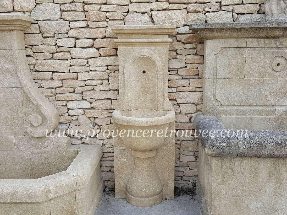 Fontaine De Jardin Avec Vasque Fon01 050
