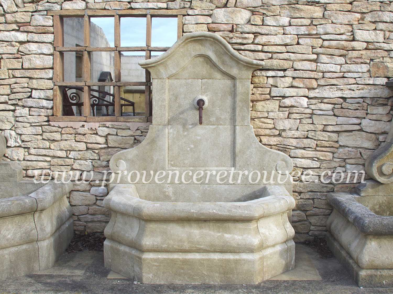 Fontaine murale en pierre patin e fon19 140 - Fontaines de jardin murales ...