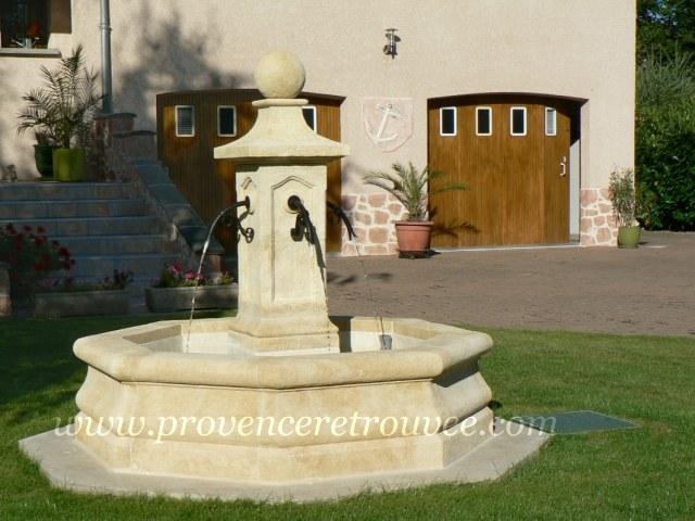 Installer une fontaine en pierre dans son jardin for Pompe fontaine exterieur