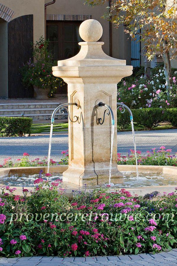 Principe D Une Fontaine En Circuit Ferme Avec Pompe