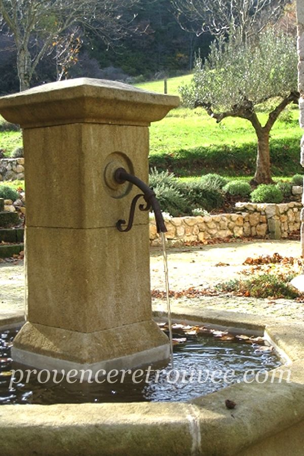 installer une fontaine en pierre dans son jardin. Black Bedroom Furniture Sets. Home Design Ideas